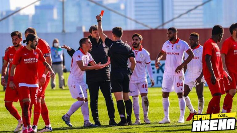 Son Dakika - TFFden Ümraniyespor - Samsunspor maçıyla ilgili sürpriz karar Kural hatası var ama...