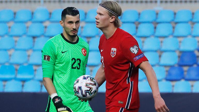 A Milli Takımın 3-0lık zaferi sonrası Norveç karıştı Erling Haaland ve Alexander Sörloth...