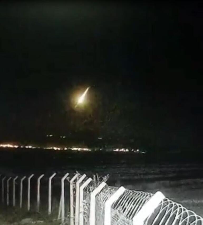Trabzon ve İstanbulda heyecanlandıran görüntü Gök taşı açıklaması