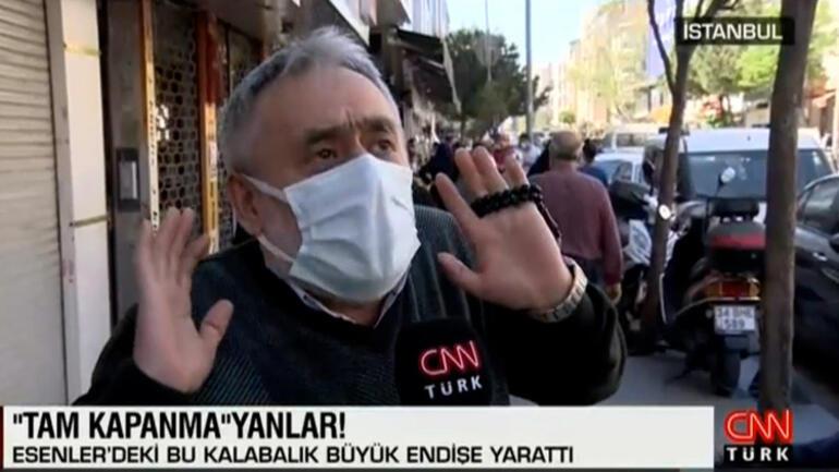 İstanbulda tam kapanmayanlar Caddelerde yoğunluk dikkat çekti