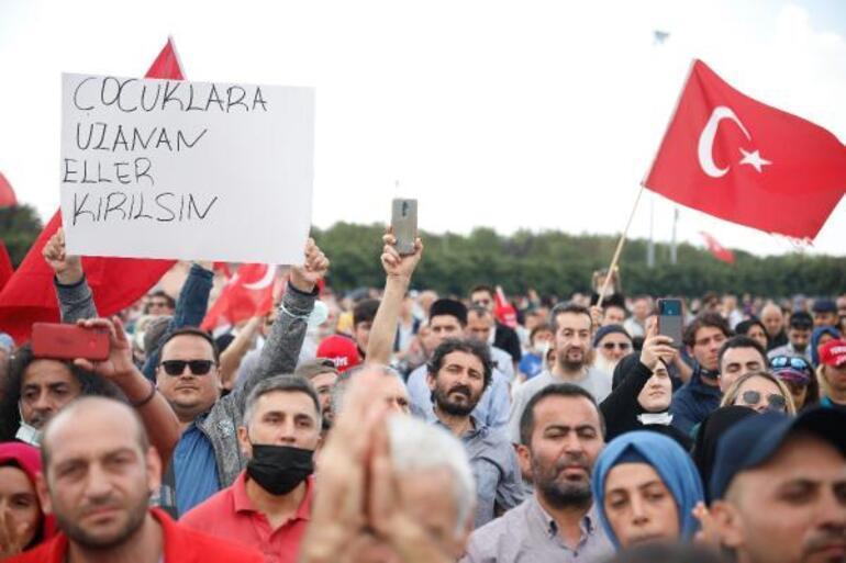 Aşı karşıtları Maltepeye akın etti... Abdurrahman Dilipak: Biz bu oyunu bozacağız