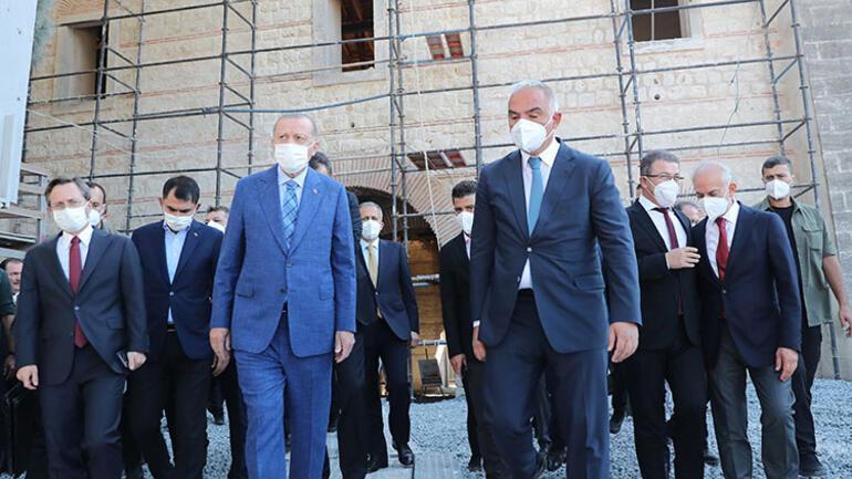 Son dakika... Cumhurbaşkanı Erdoğandan AKM ve Rami Kışlasına ziyaret